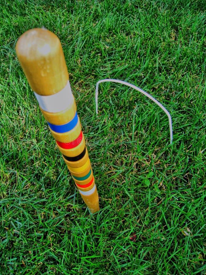 croquet arkivfoto
