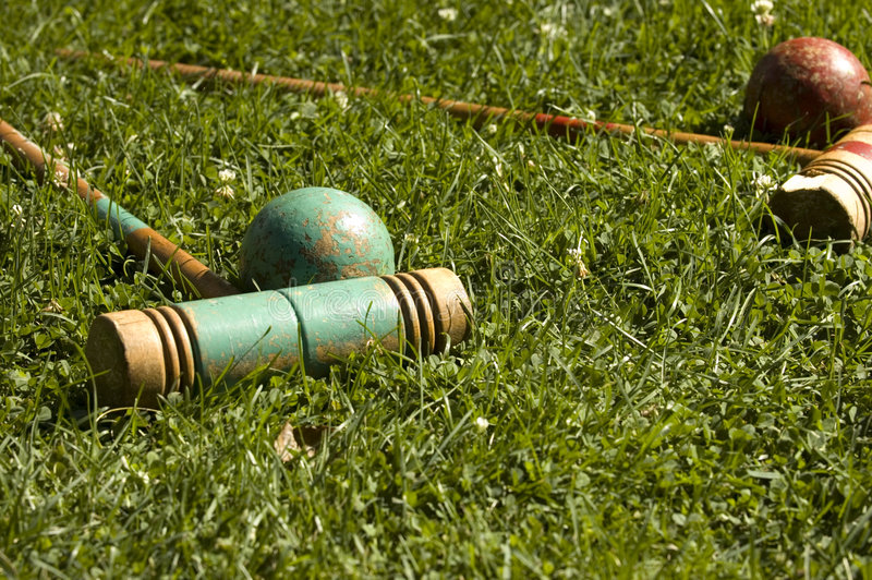Croquet #2 stock photos