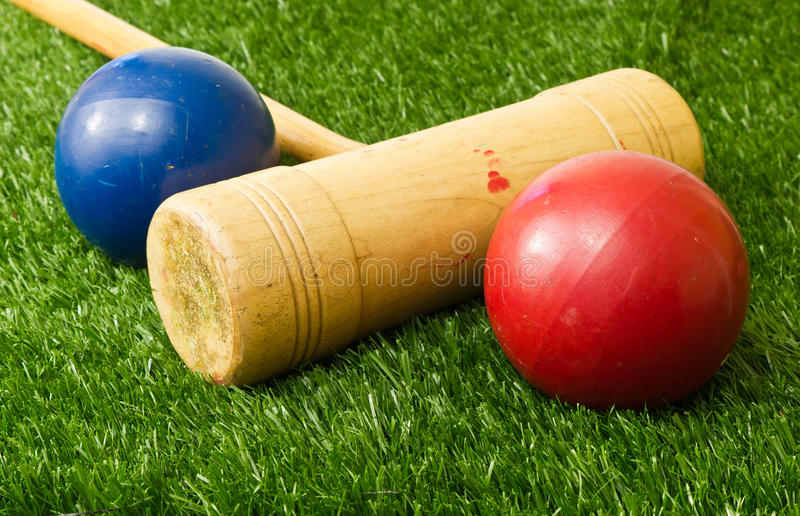 Download Croquet stock photo. Image of summer, played, wickets - 23387674