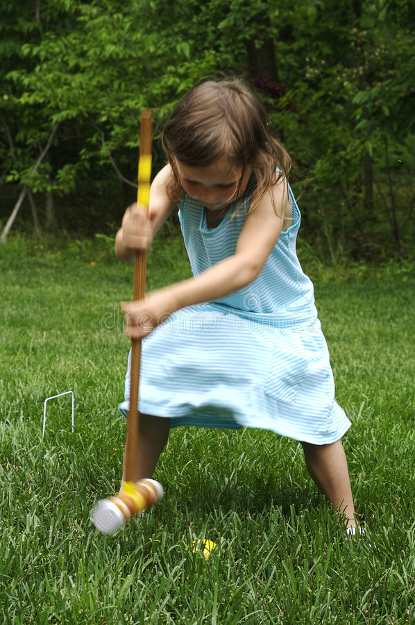 Download Croquet stock photo. Image of outdoor, sport, young, field - 5528768