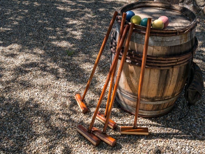 croquet photographie stock libre de droits