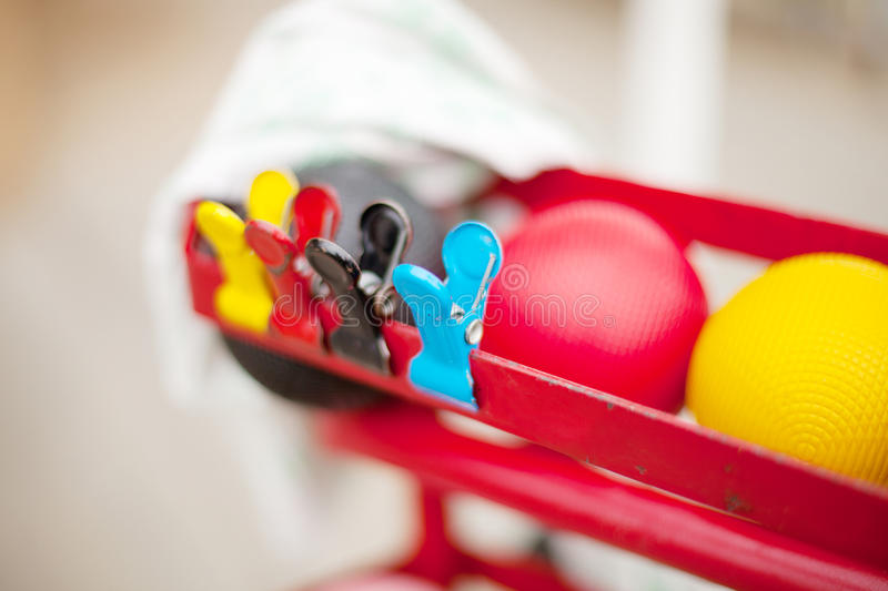 Croquet Equipment Royalty Free Stock Photography