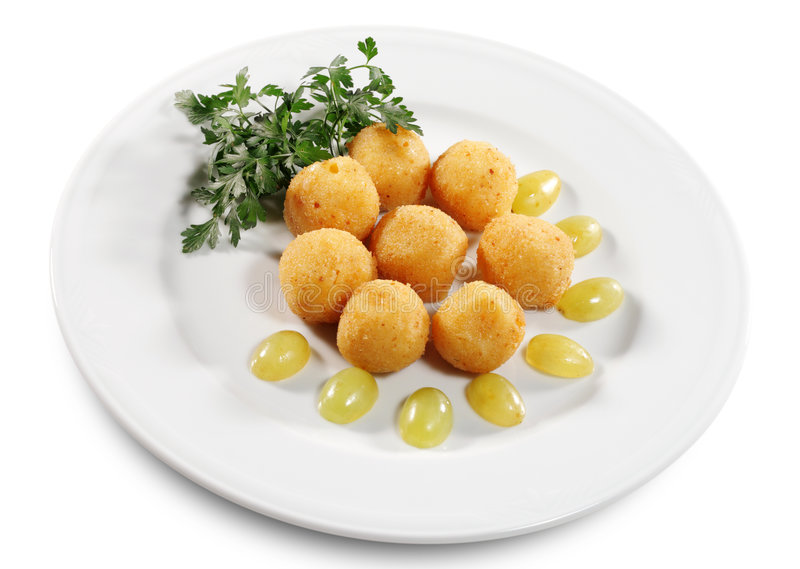croquettes τυριών στοκ φωτογραφία με δικαίωμα ελεύθερης χρήσης