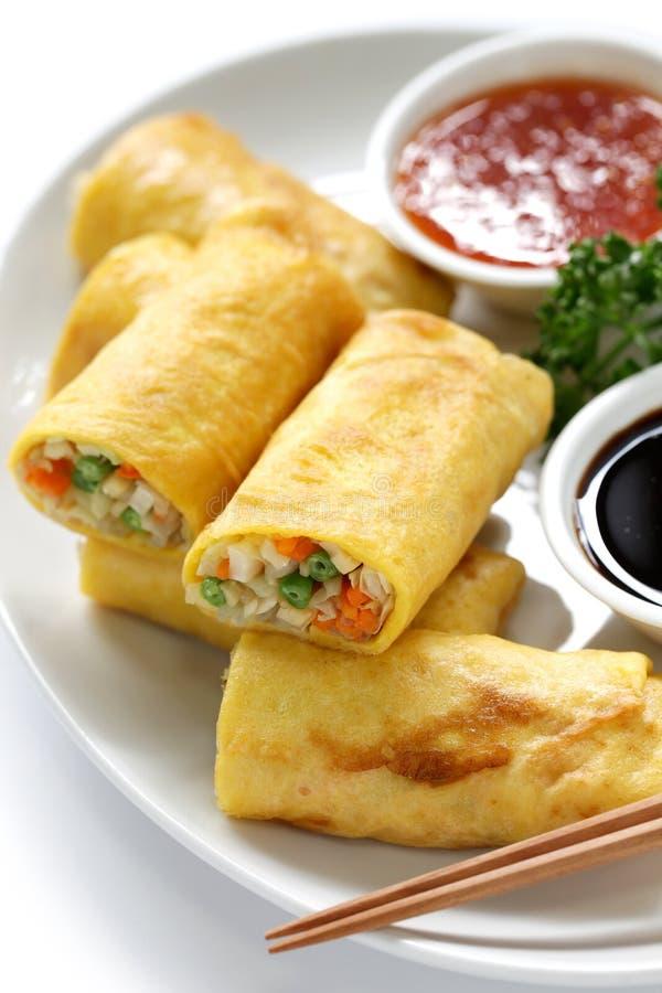 Croquettes chinoises végétariennes photos stock