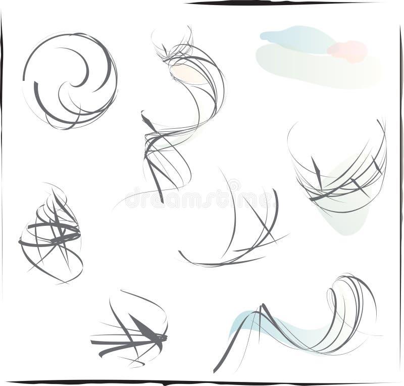 Croquis illustration stock