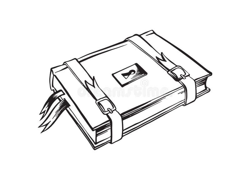 Livre Ferme Retrait De Vecteur Illustration De Vecteur