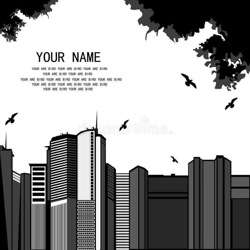 Croquis urbain illustration stock