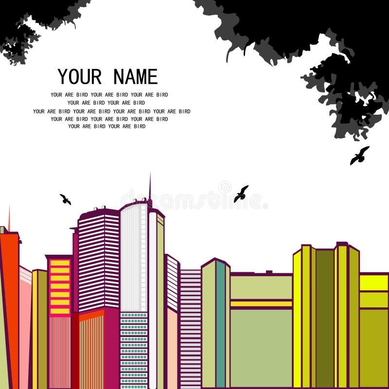 Croquis urbain illustration libre de droits