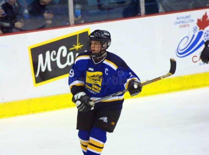 Crosby nhl Nova Scotia van Sidney stock afbeeldingen