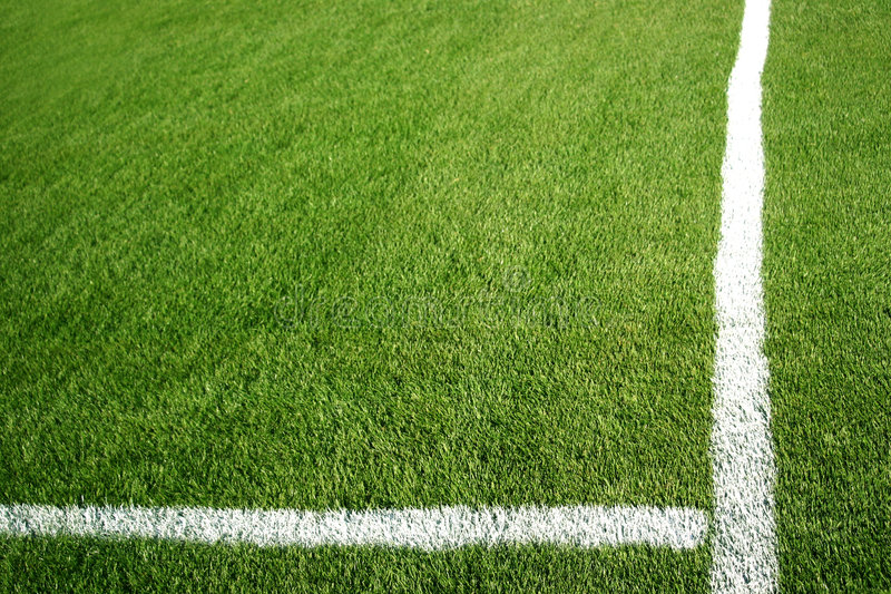 Download Cross stock image. Image of park, grass, lines, white, football - 4547