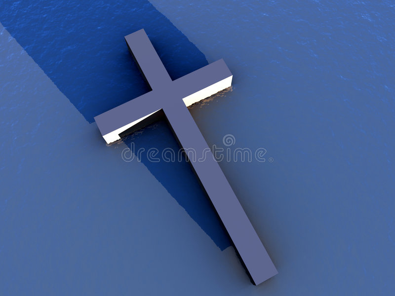 The Cross 1 vector illustration