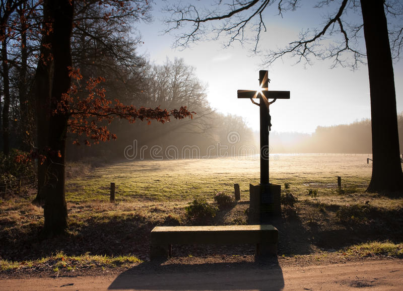 Download Cross stock image. Image of revival, remembrance, catholic - 12240371