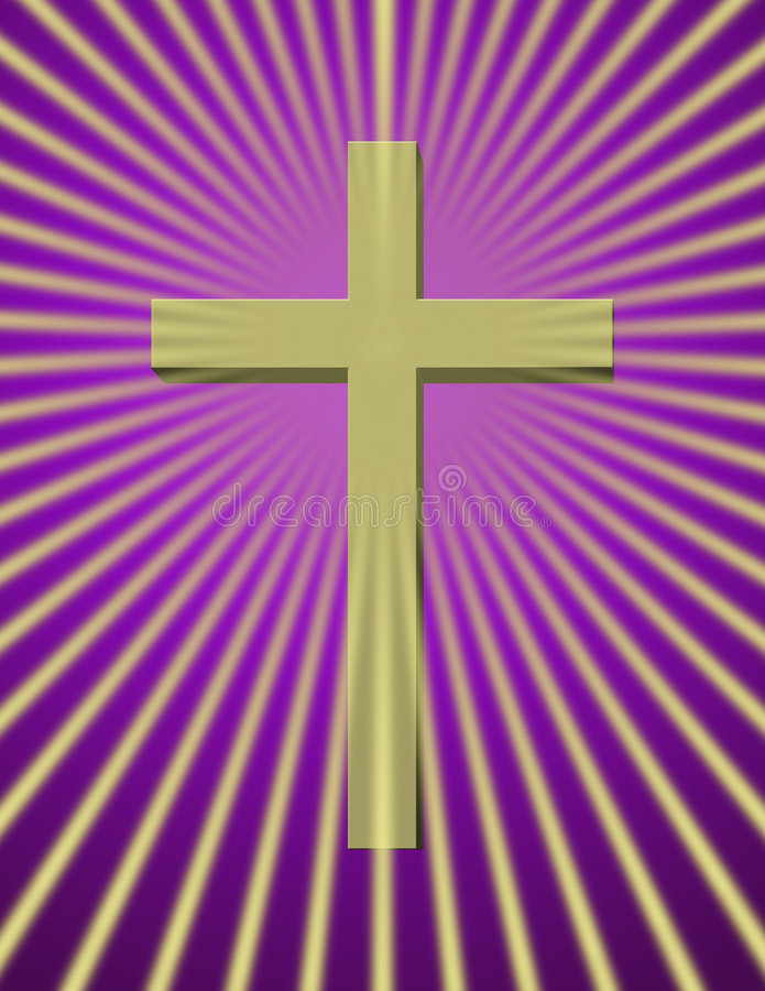 Download Cross stock illustration. Image of holy, brighten, believer - 2309036