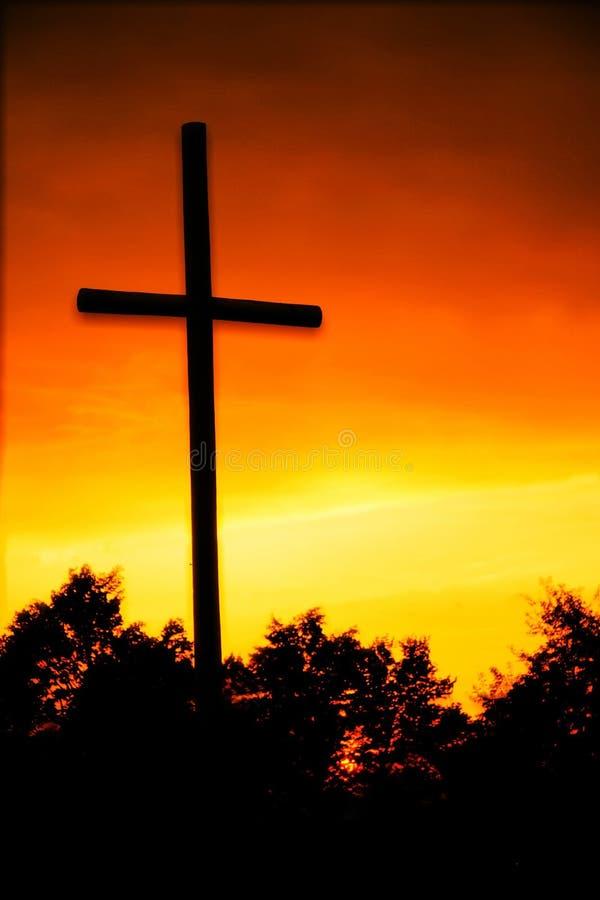 Christian cross stock photography