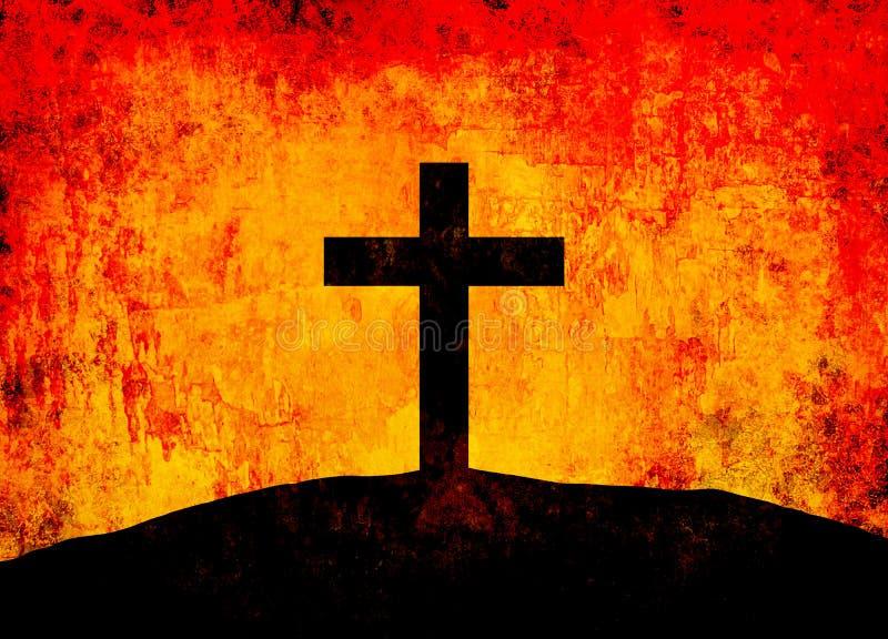 Download Cross stock illustration. Image of cross, black, religion - 28068196