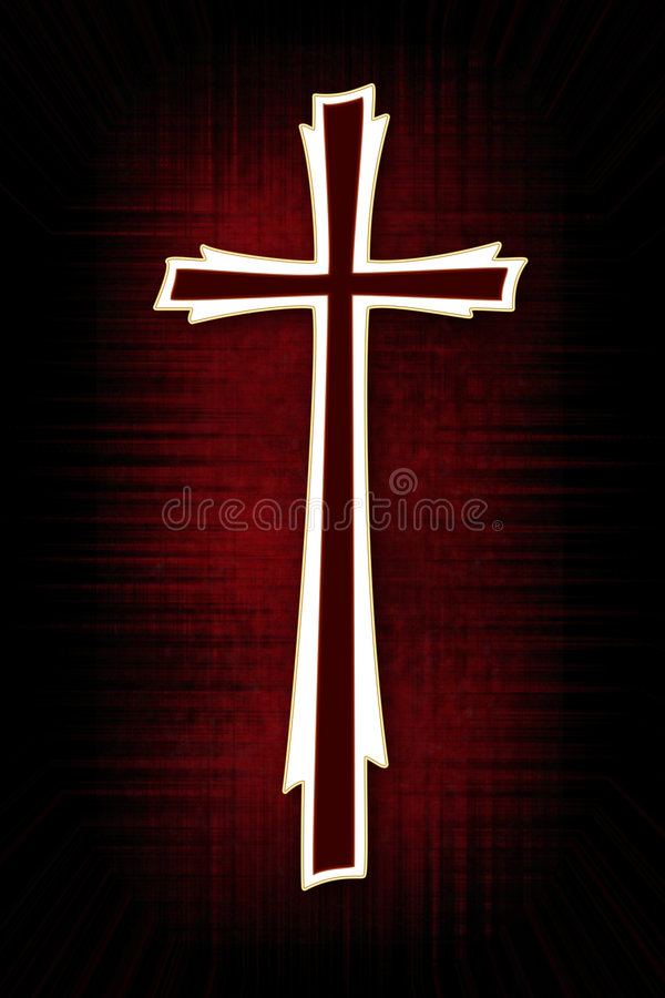 Download Cross stock illustration. Illustration of holiness, pious - 4043784