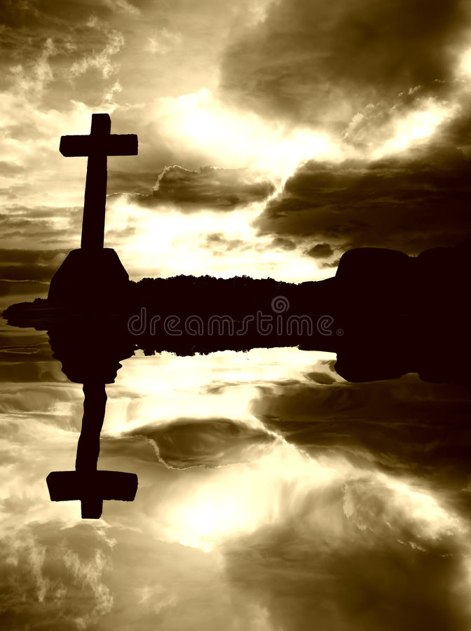 Download Cross stock image. Image of crucifixion, protestant, religious - 4084523