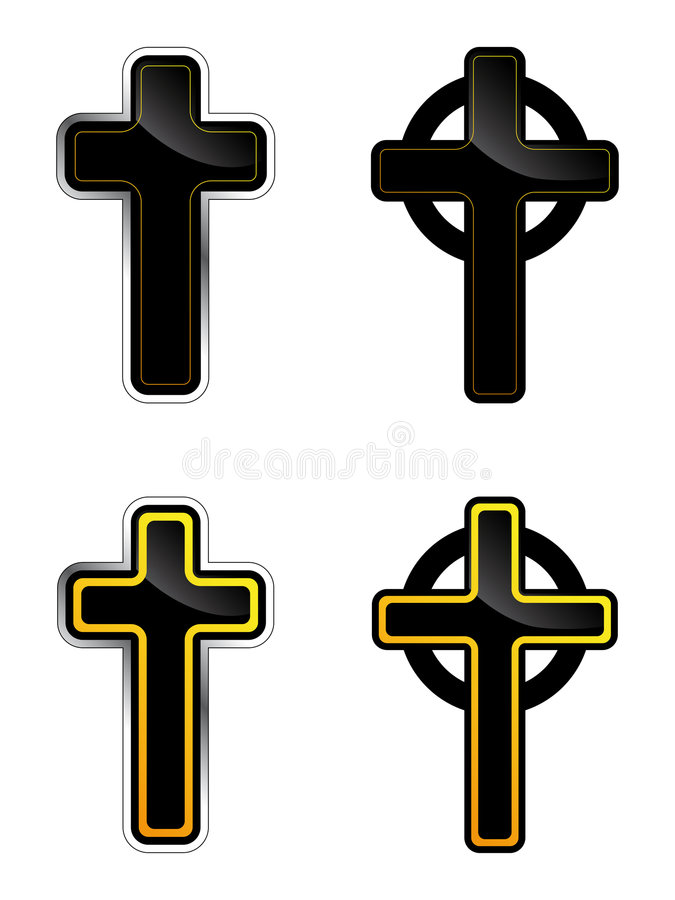 Download Cross stock vector. Image of ethnography, cross, style - 4330367