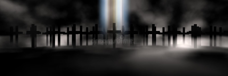 Download Cross stock illustration. Image of revival, beam, christ - 4545890