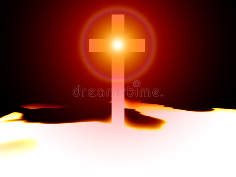 The Cross 47 vector illustration