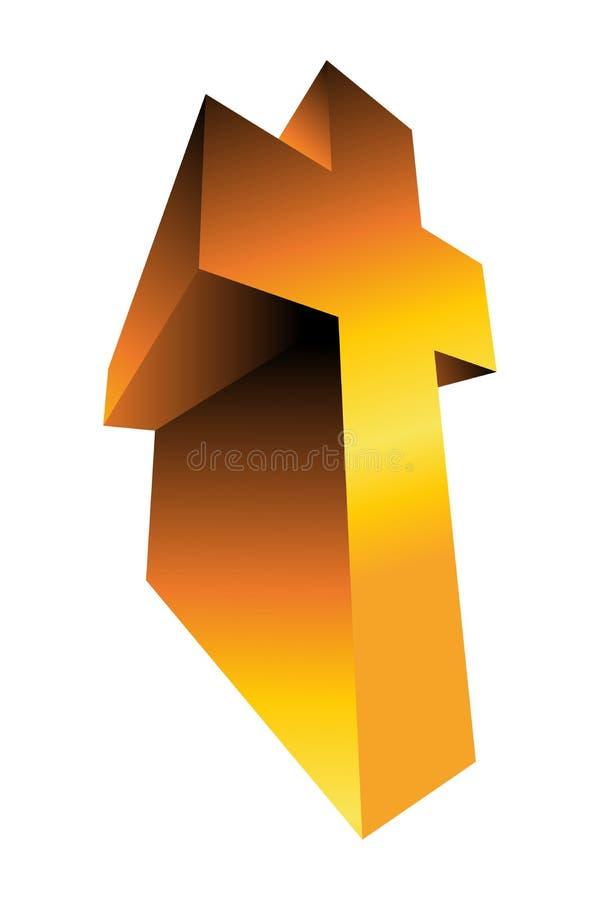 Cross stock illustration