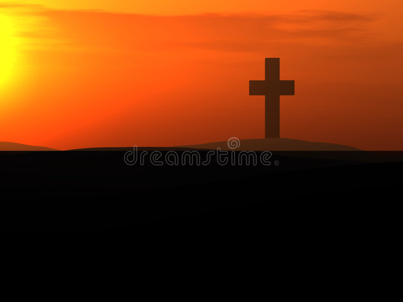 The Cross 9 royalty free stock photos
