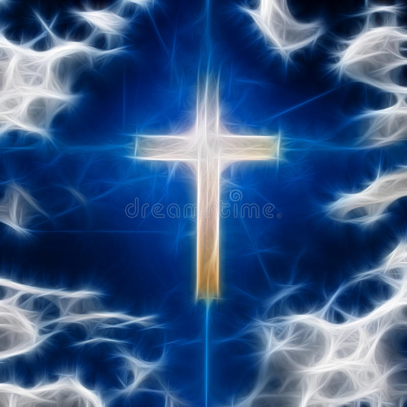 Download Cross Abstract stock illustration. Image of christianity - 34205814