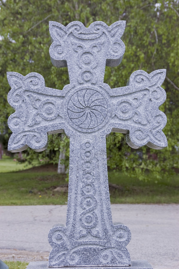 Free Cross At Cemetery Royalty Free Stock Photography - 5412467