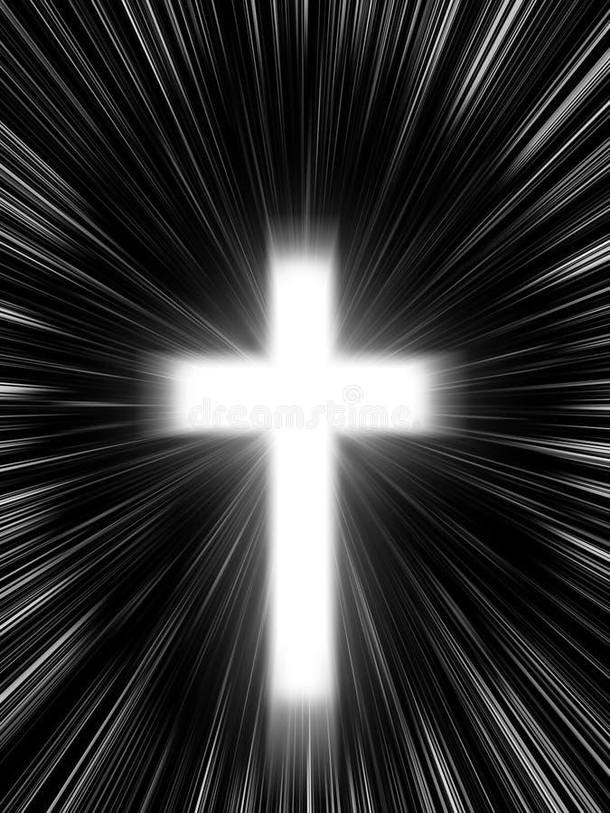 Cross background vector illustration