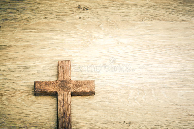 Cross background concept stock image