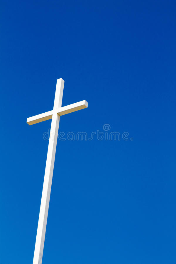 Cross With Blue Sky Royalty Free Stock Image