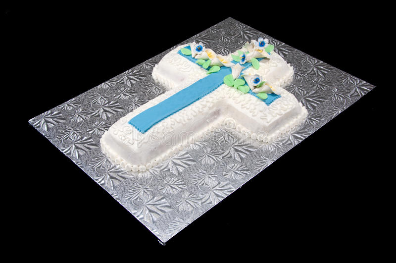 Cross Cake royalty free stock image