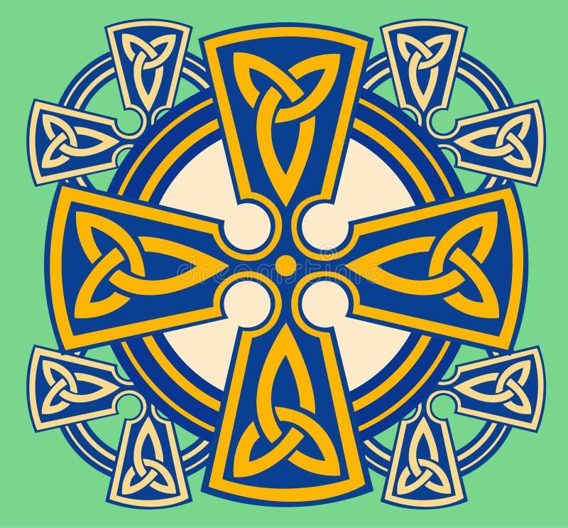 cross celta dekoracyjny ilustracja wektor