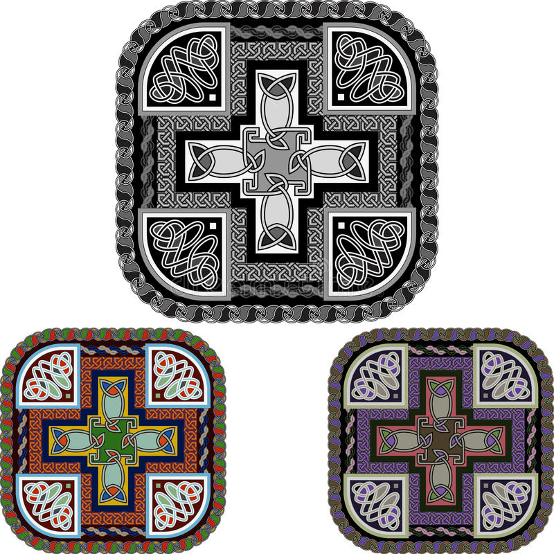 Download Cross And Celtic An Ornament Stock Photo - Image: 27123830