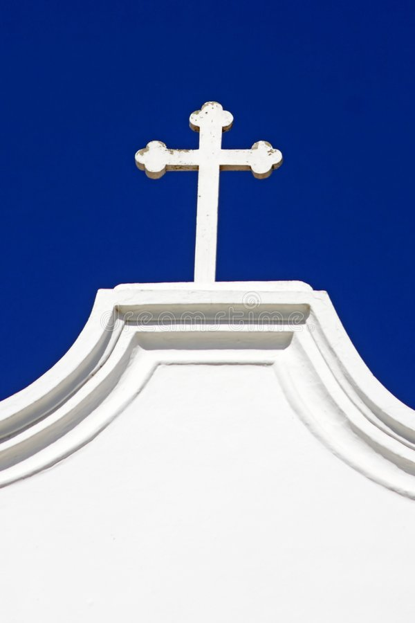 Download A cross on a church stock image. Image of cross, outdoor - 2322107
