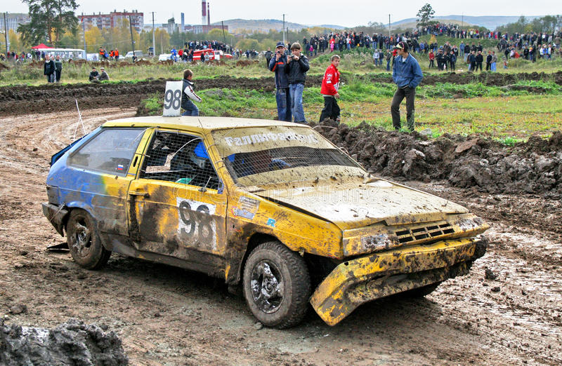 Cross-country buggy race royalty free stock photo