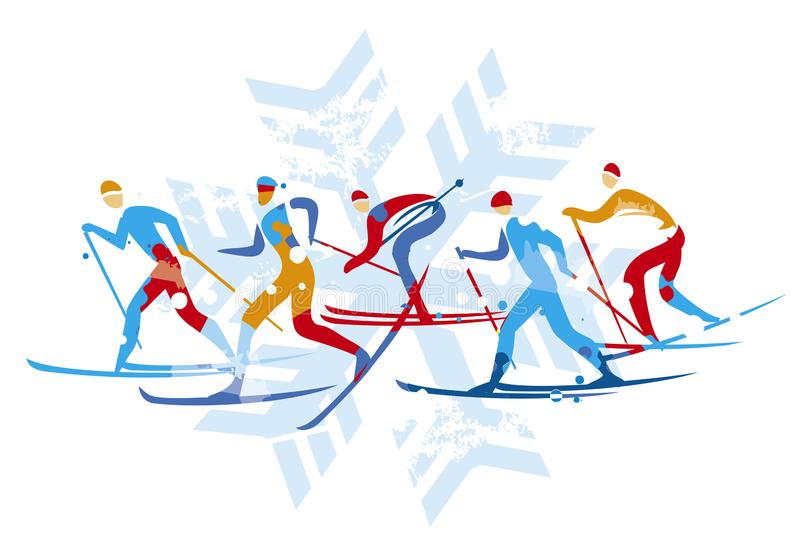 Cross Country Skier Drawing Stock Illustrations – 52 Cross Country Skier  Drawing Stock Illustrations, Vectors & Clipart - Dreamstime