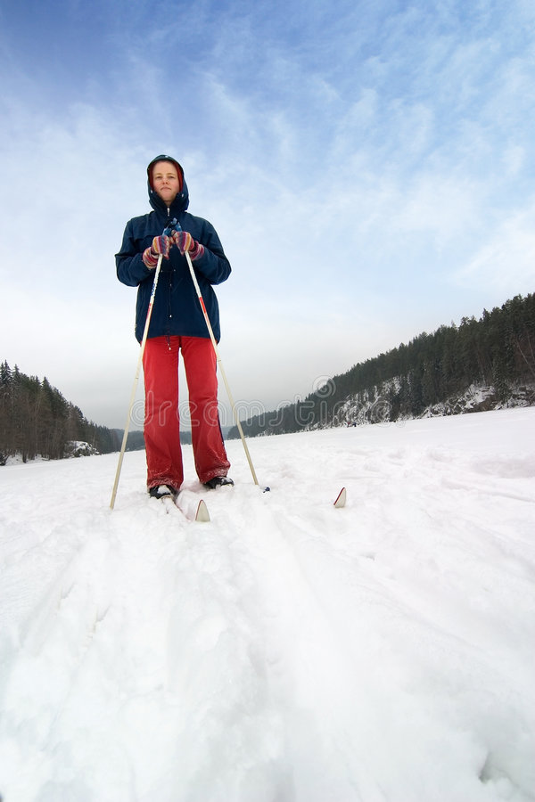 Download Cross Country Skier Stock Photos - Image: 2134103