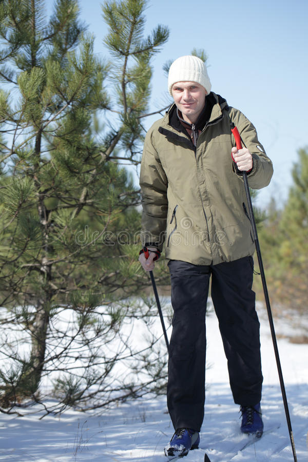 Free Cross-country Skiing Royalty Free Stock Photos - 22090798