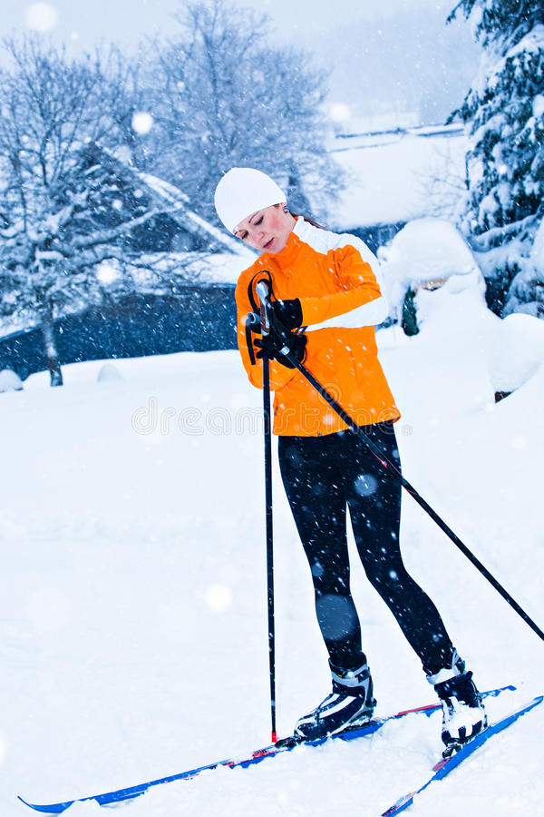 Download Cross-country skiing stock photo. Image of activity, skating - 23458280