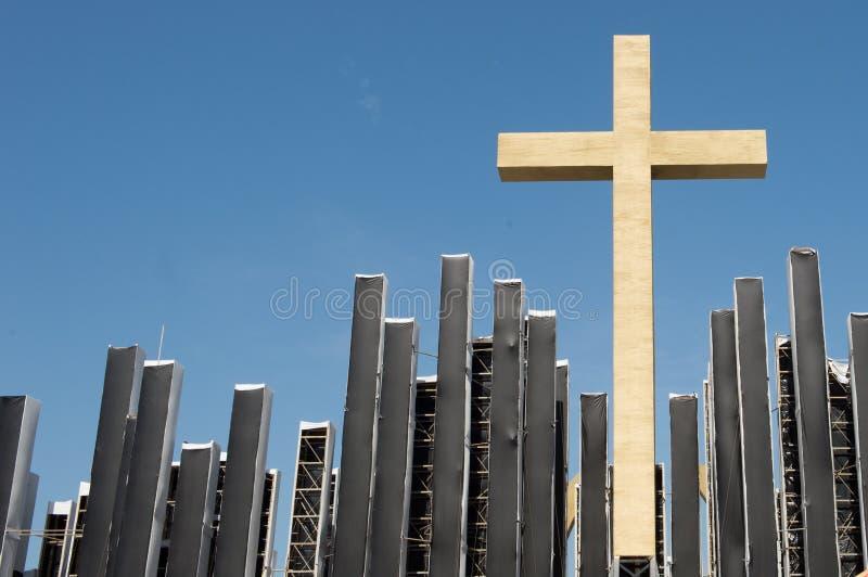 Download Cross stock image. Image of light, blue, shiny, shape - 32474309