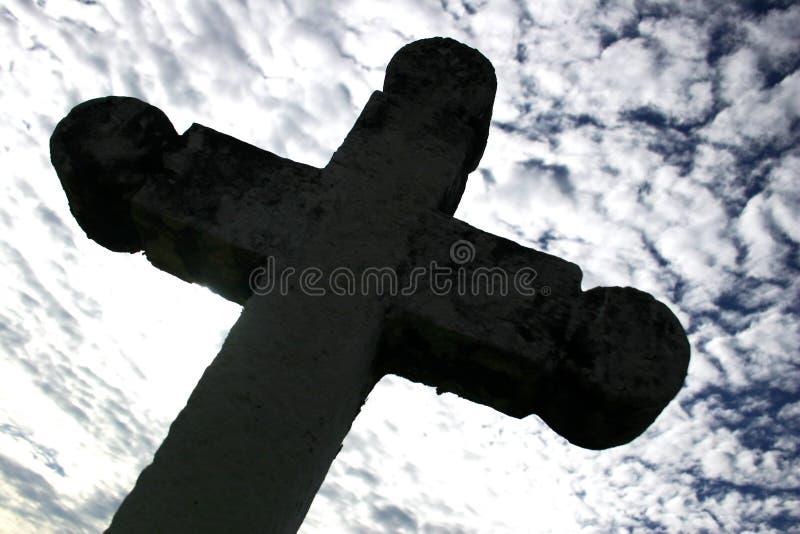 cross gothic zdjęcie stock