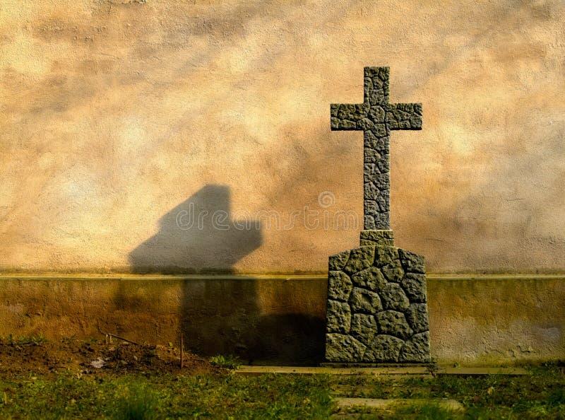 cross grobowca obrazy stock
