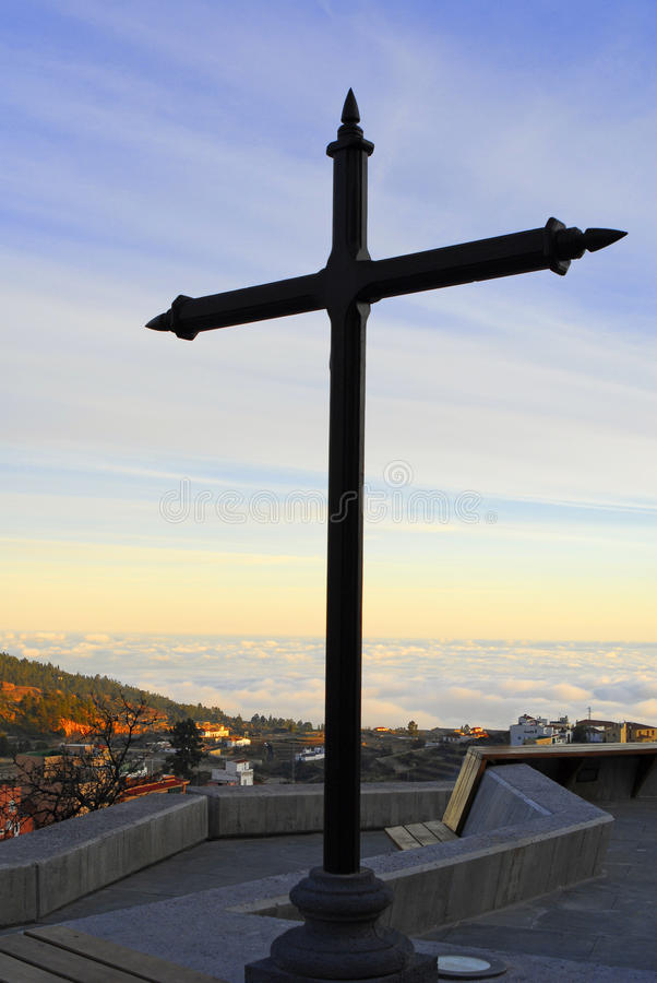 Download Cross in the heaven stock image. Image of isolated, heaven - 12929217