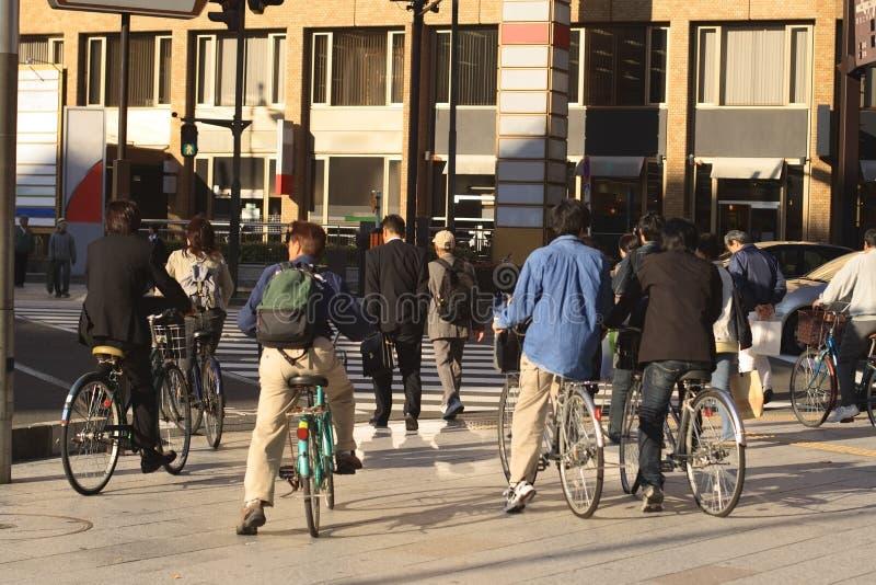cross ludzi ulicznych obrazy stock