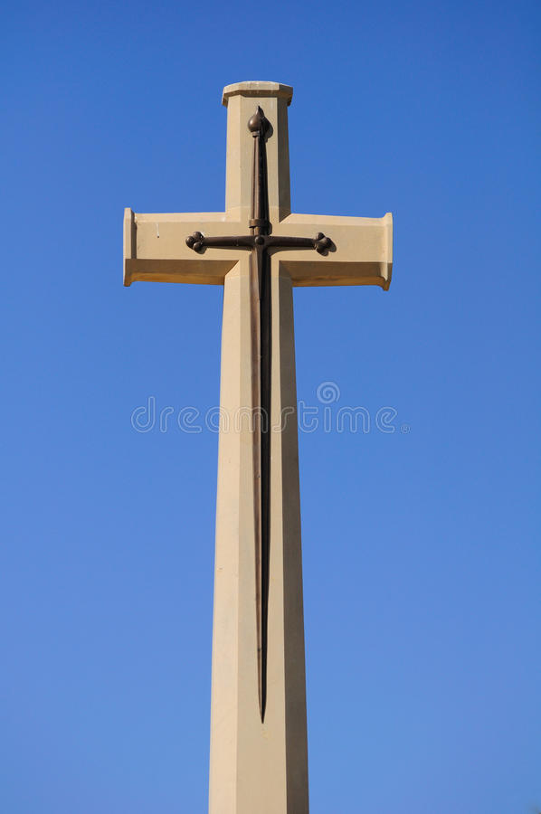 Download Cross monument. stock photo. Image of huge, monument - 25263184