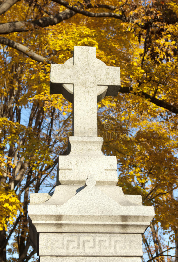 Download Cross Monument In Cemetery stock image. Image of cross - 17911105