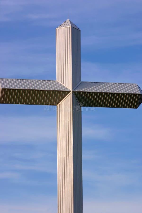 cross niebo fotografia royalty free