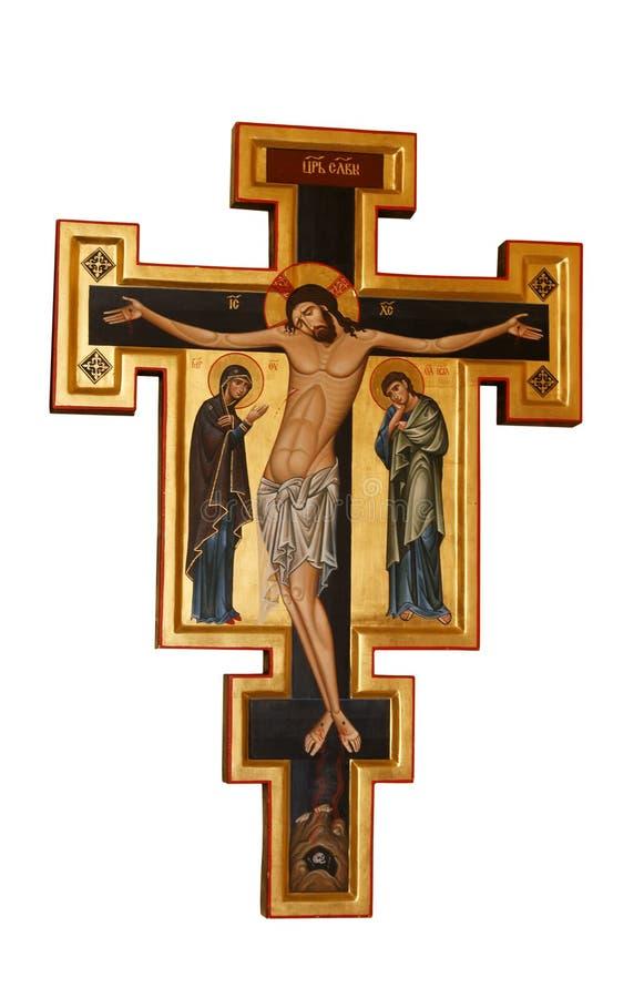 Cross Orthodox stock photos