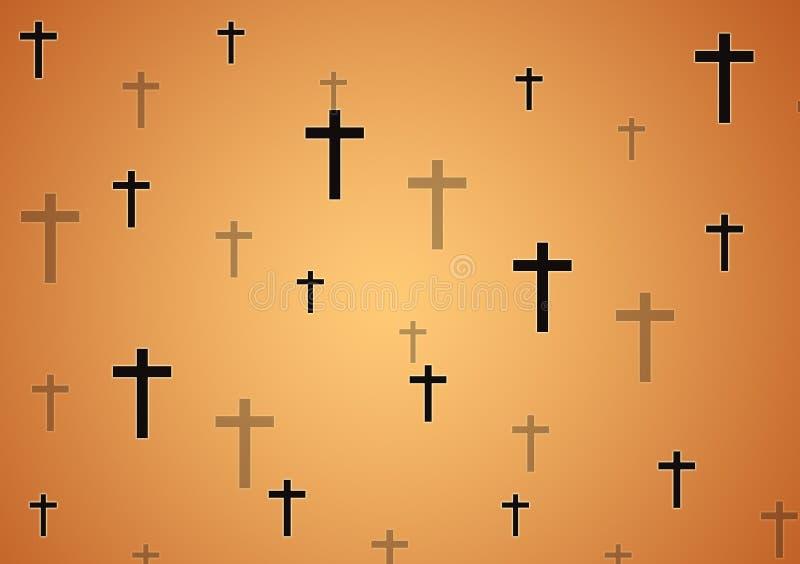 Download Cross Pattern Wallpaper For Background Stock Illustration
